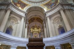 Tomb of Napoleon, Les Invalides, Paris,  France Stock Images