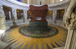Tomb of Napoleon, Les Invalides, Paris,  France Royalty Free Stock Photos