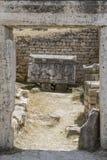 Tomb in Northern Necropolis of Hierapoli, Denizli, Turkey Royalty Free Stock Images