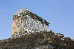 Tomb in Northern Necropolis of Hierapoli, Denizli, Turkey Royalty Free Stock Photography