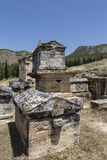 Tomb in Northern Necropolis of Hierapoli, Denizli, Turkey Stock Photos
