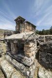 Tomb in Northern Necropolis of Hierapoli, Denizli, Turkey Stock Photography