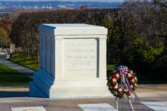 Free Tomb Of Unknown Solider In Arlington Cemetery Stock Photography - 151204932