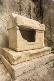 Tomb in Olympos, Kemer, Antalya Royalty Free Stock Photos