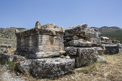 Tomb in Olympos, Kemer, Antalya Stock Images