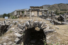 Tomb in Olympos, Kemer, Antalya Royalty Free Stock Photography