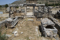 Tomb in Olympos, Kemer, Antalya Stock Photo