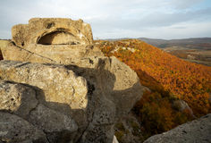 The tomb of Orpheus. In the Thracian sanctuary complex near Tatul village, Bulgaria Stock Photos