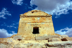 Tomb in Pasargarde Royalty Free Stock Photography