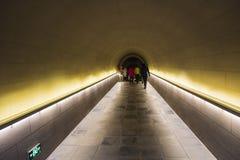 Tomb passage Stock Photo