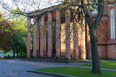 Tomb of the philosopher Immanuel Kant. Kaliningrad Stock Photo