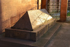 Tomb of the philosopher Immanuel Kant. Kaliningrad Royalty Free Stock Image