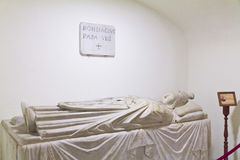 The tomb of Pope Boniface VIII. Preserved in St. Peter's Basilica in the Vatican Stock Photo