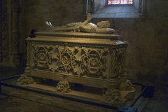 Tomb of Portuguese explorer, Vasco da Gama Stock Image