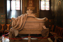 Tomb of Prince Alexander Dimitrie Ghica, Alexandria, Romania Royalty Free Stock Photo