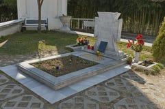 Tomb of prophet bulgarian Baba Vanga at Rupite her favourite place. Bulgaria Stock Image