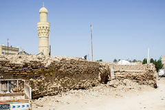 The tomb of the Prophet Ezekiel or as it is called the Prophet a Kifl Royalty Free Stock Image