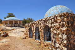 Tomb of Rabbeinu Behaye near Kadarim in the Galilee, Israel Royalty Free Stock Photography