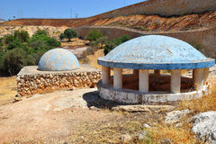 Tomb of Rabbeinu Behaye near Kadarim in the Galilee, Israel Royalty Free Stock Image