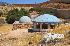 Tomb of Rabbeinu Behaye near Kadarim in the Galilee, Israel Stock Photography