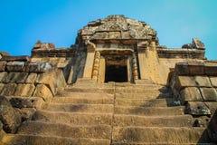 Tomb Raider świątynny Angkor Wat, Siem Przeprowadza żniwa Cambo Zdjęcia Stock