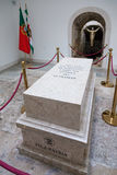 Tomb with the remains of a fallen unknown soldier in the Memorial Chapel Stock Photo