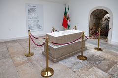 Tomb with the remains of a fallen unknown soldier in the Memorial Chapel Royalty Free Stock Images