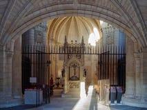 The tomb and remains of the Saint - San Juan de Ortega Royalty Free Stock Photos