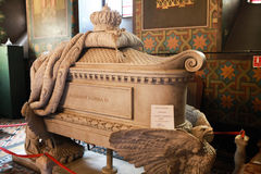 Tomb of Ruler Alexander Dimitrie Ghica, Alexandria, Romania Royalty Free Stock Photo
