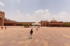 Tomb of Salim Chishti at Fatehpur Sikri India Stock Image