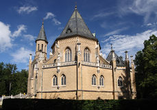 Tomb of the Schwarzenbergs. Chateau with family tomb of the Schwarzenberg situated near the historical town of Trebon, Czech Republic Royalty Free Stock Photography