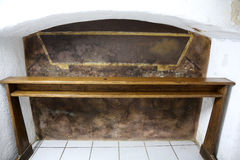 The tomb of the Servant of God Peter Barbaric in Travnik Royalty Free Stock Photos