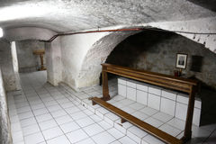 The tomb of the Servant of God Peter Barbaric in Travnik Royalty Free Stock Photography