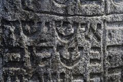 The tomb stone Royalty Free Stock Photos
