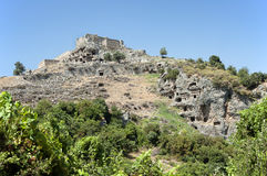Tomb stone in Tlos, Turkey 2 Stock Photo