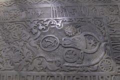 Tomb in Sucevita Monastery, Moldavia, Romania Stock Photography