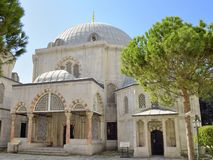 The Tomb of Sultan Murad III Royalty Free Stock Images