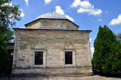 The Tomb of Sultan Murad located in Kosovo. The Tomb of Sultan Murad, also known as Meşhed-i Hüdâvendigâr, is a mausoleum türbe, dedicated to the royalty free stock photo