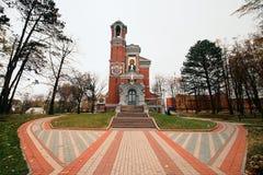 Tomb of Svyatopolk-Mirski. Family chapel of princes Svyatopolk-Mirski Stock Photography