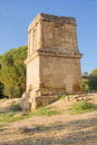 Tomb of Teron, Agrigento. Tomb of Teron in the Valley of the Temples, Agrigento in Italy stock photos
