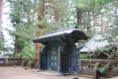 The Tomb of Tokugawa Ieyasu in Tosho gu. Tomb of Tokugawa Ieyasu in Tosho-gu shrine in Nikko Stock Photo