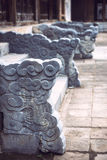 Tomb of Tu Duc emperor in Hue, in a rainy day, Vietnam - A UNESC Stock Photography