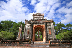 Tomb of Tu Duc. At Hue, Vietnam in the afternoon Stock Photo