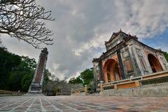 Tomb of Tu Duc. Hué. Vietnam Stock Image