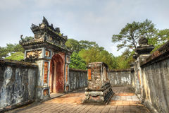 Tomb of Tu Duc, Hue, Vietnam. This image shows the Tomb of Tu Duc, Hue, Vietnam Stock Photography