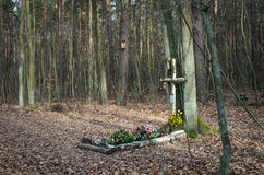 Tomb of the Unknown Person Stock Images