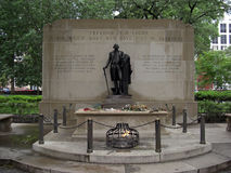 The Tomb of the Unknown Revolutionary War Soldier at Washington Square in Philadelphia, 2008 Royalty Free Stock Photo
