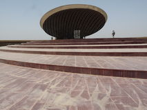 Tomb of the Unknown Soldier. Located in central Baghdad, this large structure was erected to preserve the integrity of soldiers lost in combat to the Iranian Royalty Free Stock Image