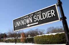 Tomb of the Unknown Soldier Stock Image