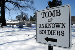 Tomb of the Unknown Soldier Stock Photos